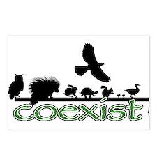 Wildlife Coexist Postcards (Package of 8)