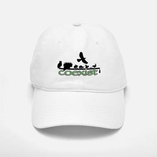 Wildlife Coexist Baseball Baseball Cap