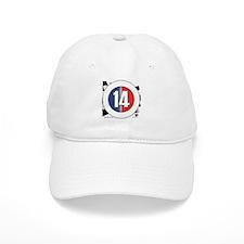 14 Cars logo Baseball Cap