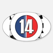 14 Cars logo Decal