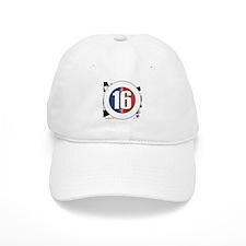 16 Cars Logo Baseball Cap