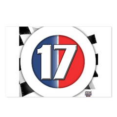 17 Cars Logo Postcards (Package of 8)