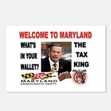 TAX MANIAC Postcards (Package of 8)