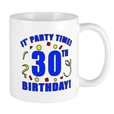 30th Birthday Party Time Mug