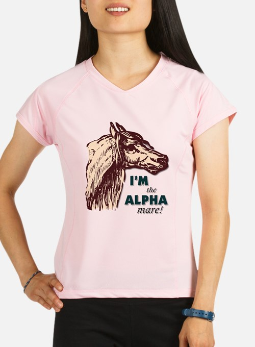 Cute Alpha mare Performance Dry T-Shirt