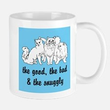 The Snuggly (blue) Small Small Mug