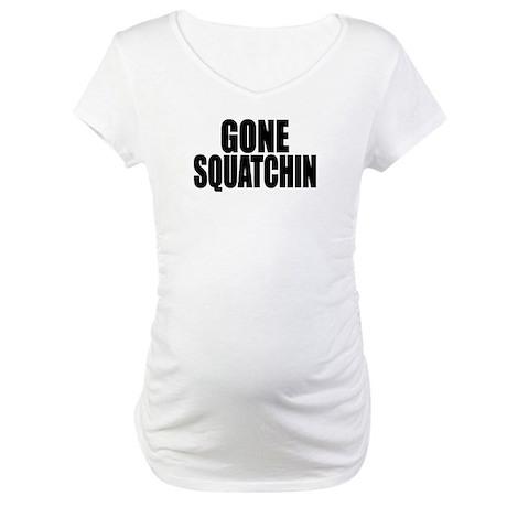 AUTHENTIC Bobo GONE SQUATCHIN Maternity T-Shirt