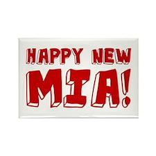 HAPPY NEW MIA! Rectangle Magnet