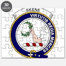 Cute Skene clan badge Puzzle
