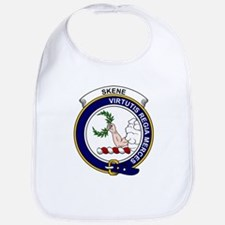 Cute Skene clan badge Bib
