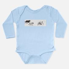 Cute Tervuren Long Sleeve Infant Bodysuit