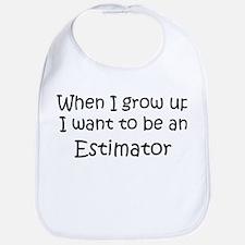 Grow Up Estimator Bib