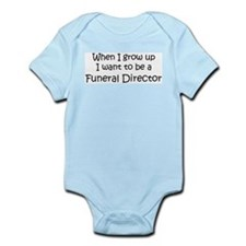 Grow Up Funeral Director Infant Creeper