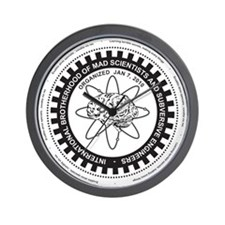 Mad Science Union Logo Wall Clock