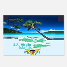VIRGIN ISLANDS Postcards (Package of 8)