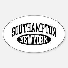 Southampton NY Sticker (Oval)
