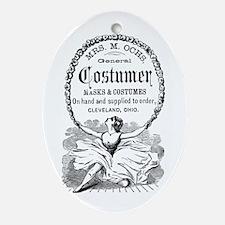 Costumer Ornament (Oval)
