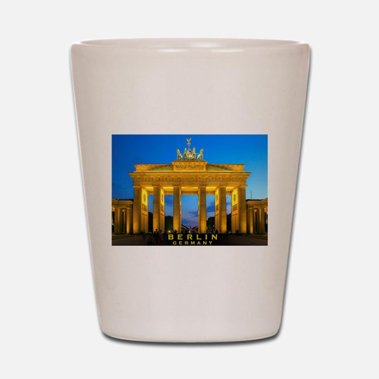Cute Berlin Shot Glass