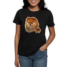 Pomeranian head and body Tee