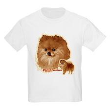 Pomeranian head and body T-Shirt