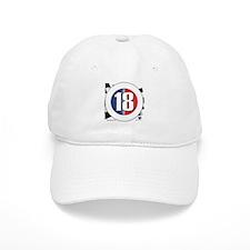 18 Cars Logo Baseball Cap