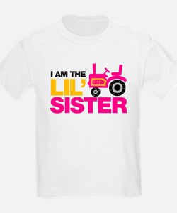 Tractor Little Sister T-Shirt