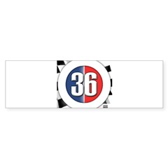 36 Cars Logo Bumper Sticker