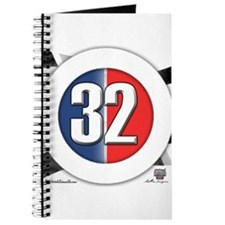 32 Cars Logo Journal