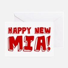 HAPPY NEW MIA! Greeting Card