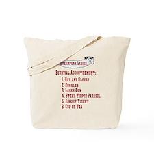 Steampunk Ladies' Checklist Tote Bag