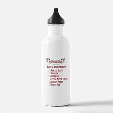 Steampunk Ladies' Checklist Stainless W Bottle 1L