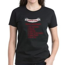 Steampunk Ladies' Checklist Tee