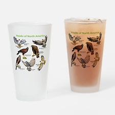 Hawks of North America Drinking Glass