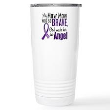 Angel 1 Pancreatic Cancer Travel Mug