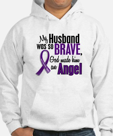 Angel 1 Pancreatic Cancer Hoodie