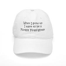 Grow Up Forest Firefighter Baseball Cap