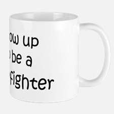 Grow Up Forest Firefighter Mug
