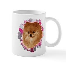 Pomeranian head dog art Mug