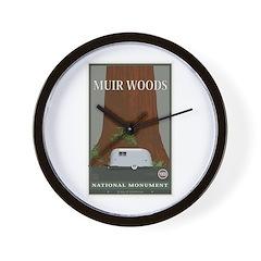 Muir Woods 1 Wall Clock
