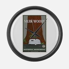Muir Woods 1 Large Wall Clock