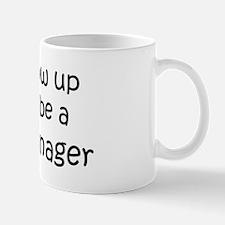 Grow Up Credit Manager Small Small Mug