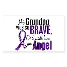 Angel 1 Pancreatic Cancer Decal