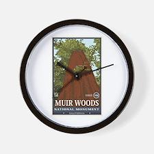 Muir Woods 3 Wall Clock