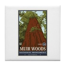 Muir Woods 3 Tile Coaster