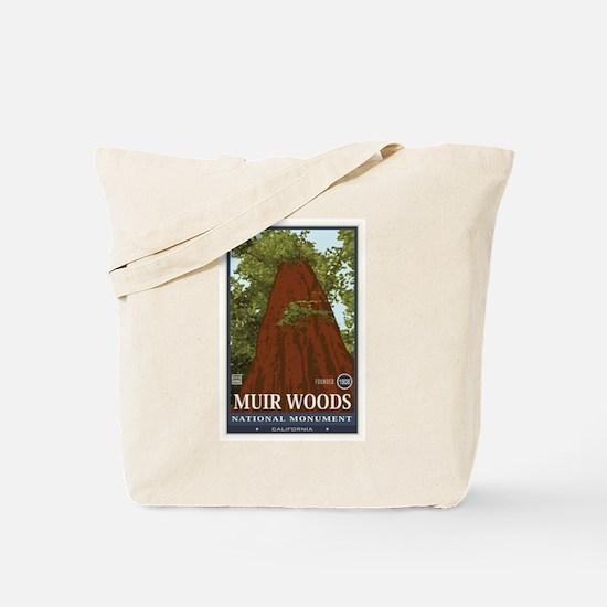 Muir Woods 3 Tote Bag