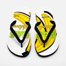 Bananas about Triathlons Flip Flops