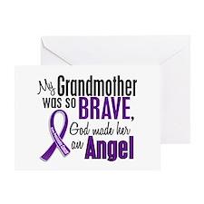 Angel 1 Pancreatic Cancer Greeting Card