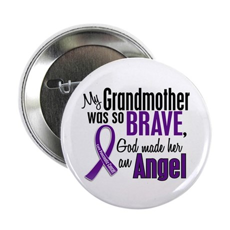 "Angel 1 Pancreatic Cancer 2.25"" Button (10 pack)"