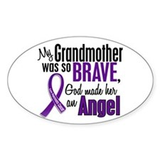 Angel 1 Pancreatic Cancer Decal