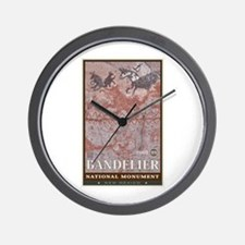 Bandelier 1 Wall Clock